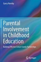 Parental Involvement in Childhood Education PDF