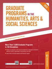 Peterson's Graduate Programs in the Humanities, Arts & Social Sceinces 2012: Edition 46