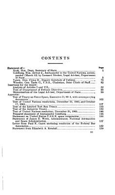Treaty on Outer Space