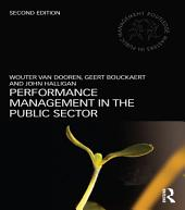 Performance Management in the Public Sector: Edition 2