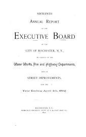 Annual Report: Volume 16
