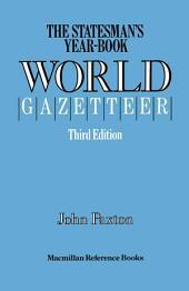 The Statesman's Year-Book' World Gazetteer