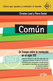 Común: Ensayo sobre la revolución en el siglo XXI