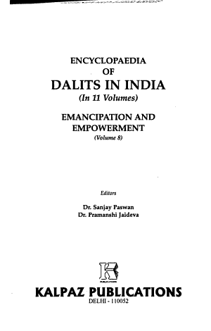 Encyclopaedia of Dalits in India  Emancipation and empowerment PDF
