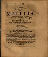De militia