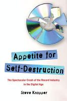 Appetite for Self Destruction PDF