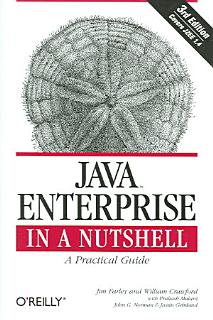 Java Enterprise in a Nutshell Book