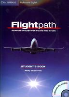 Flightpath  Aviation English for Pilots and ATCOs Student s Book with Audio CDs  3  and DVD PDF