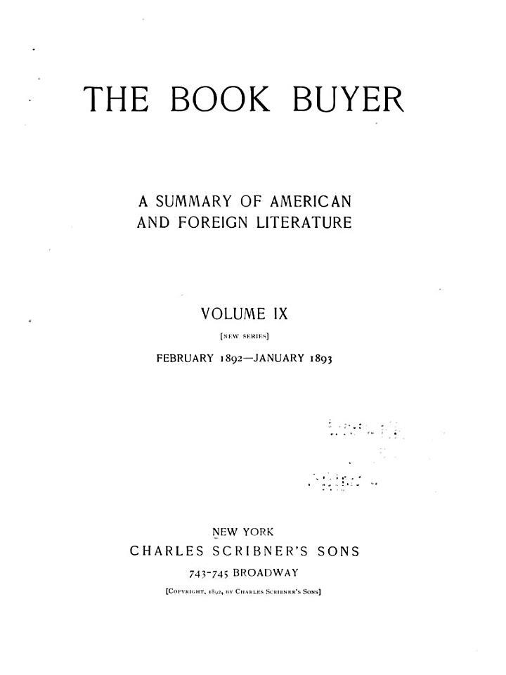The Book Buyer
