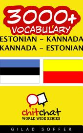 3000+ Estonian - Kannada Kannada - Estonian Vocabulary