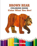 Brown Bear Coloring Book PDF