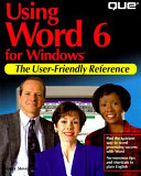 Using Word 6 for Windows