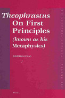 Theophrastus On First Principles PDF