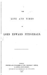 The Life and Times of Lord Edward Fitzgerald PDF