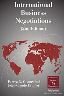 International Business Negotiations Book