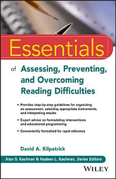 Essentials of Assessing  Preventing  and Overcoming Reading Difficulties PDF
