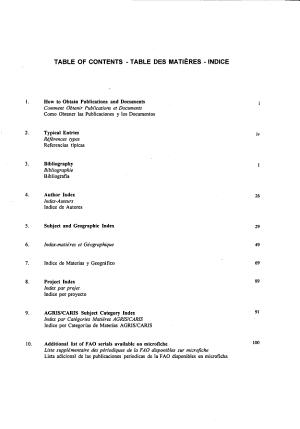 Documentaci  n de la FAO