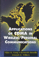 Applications of Cdma in Wireless  Personal Communications PDF