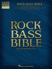 Rock Bass Bible (Songbook)
