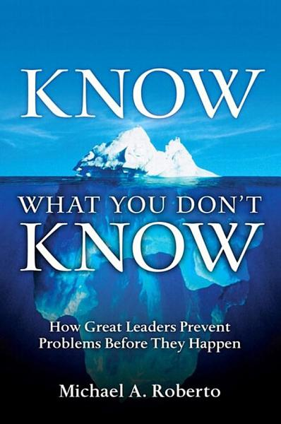 Download Know What You Don t Know Book