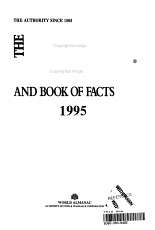 The World Almanac and Book of Facts  1995 PDF