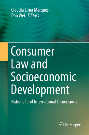 Consumer Law and Socioeconomic Development