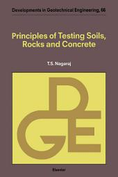 Principles of Testing Soils, Rocks and Concrete