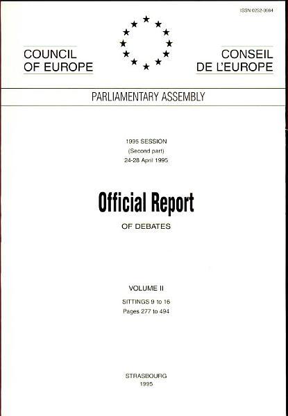 Official Report of Debates