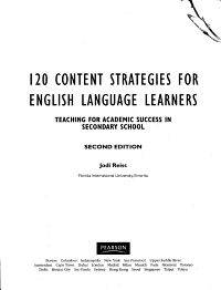120 Content Strategies for English Language Learners PDF