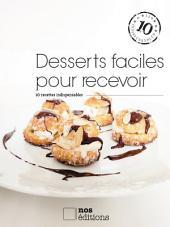Desserts faciles pour recevoir