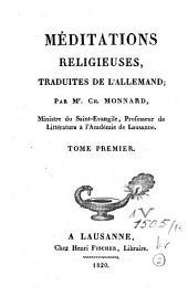 Méditations religieuses: Volume1
