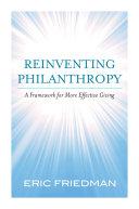 Reinventing Philanthropy