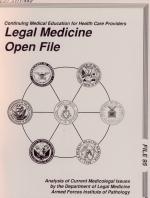 Legal Medicine Open File