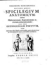 Spicilegium anatomicum