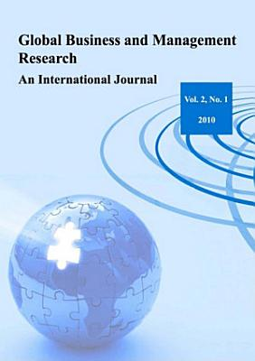 Global Business and Management Research  An International Journal Vol 2 No 1