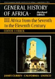 UNESCO General History Of Africa  Vol  III  Abridged Edition