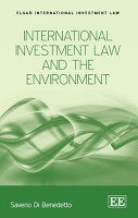 International Investment Law and the Environment PDF