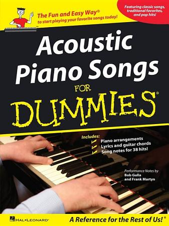 Acoustic Piano Songs for Dummies  Songbook  PDF