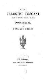 Degli illustri Toscani stati in diversi tempi a Ragusa, commentario