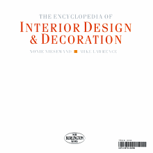 The Encyclopedia Of Interior Design   Decoration