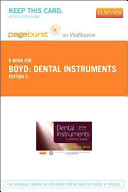 Dental Instruments Pageburst on VitalSource Access Code