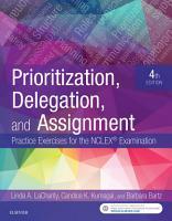 Prioritization  Delegation  and Assignment   E Book PDF