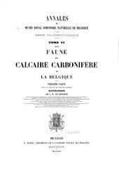 Annales du Musée royal d'histoire naturelle de Belgique: Volume6