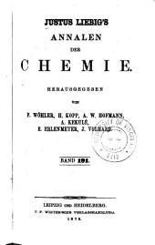 Justus Liebigs Annalen der Chemie: Bände 191-192