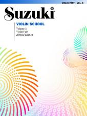 Suzuki Violin School - Volume 5 (Revised): Violin Part