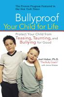 Bullyproof Your Child For Life PDF