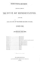 House Documents: Volume 8; Volume 184
