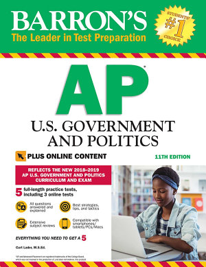 Barron s AP U S  Government and Politics with Online Tests