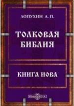 Толковая Библия или комментарий на все книги Священного Писания Ветхого и Нового Заветов. Книга Иова