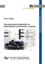 Secondary plant metabolites for authentication of Vaccinium L. species